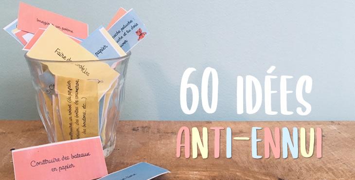 60 Reponses A Je M Ennuie S Amuser S Amuser My Little Kids
