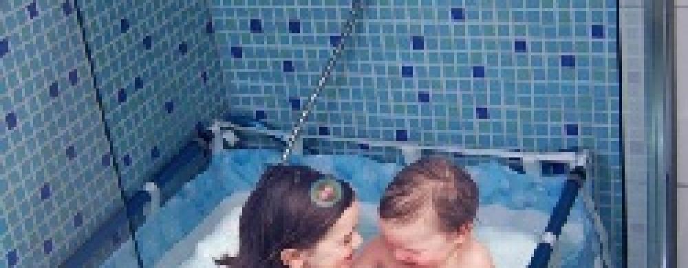 Une Baignoire Pour Enfants Dans La Douche Avec Bibabain Le Coin Des Bebes My Little Kids